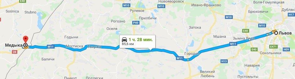 Такси Львов Медика